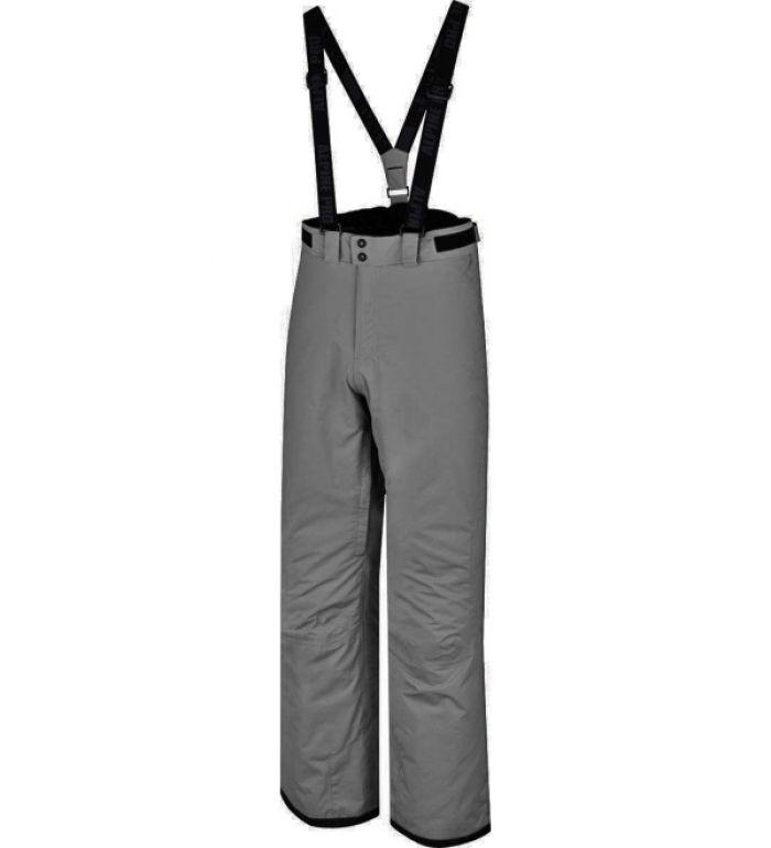 ALPINE PRO KANGEE Pánské lyžařské kalhoty 10031779 tmavě šedá XXL