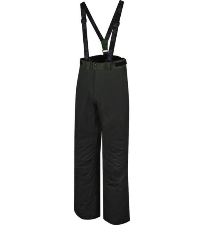 ALPINE PRO KANGEE Pánské lyžařské kalhoty 10031990 černá XXL