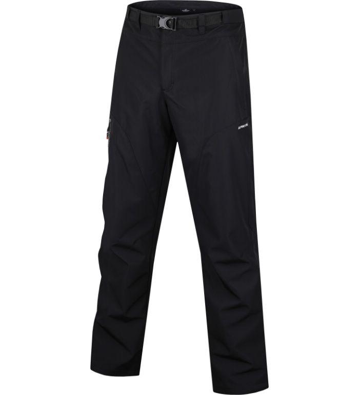 ALPINE PRO JAMA Pánské zateplené softshell kalhoty 10116990 černá 58