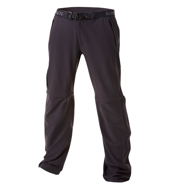 ALPINE PRO DZIVA Pánské softshell kalhoty 10127990 černá 46