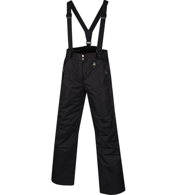 ALPINE PRO MISAWE Dámské lyžařské kalhoty 10144990 černá XL