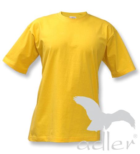 ADLER Classic Unisex triko 10104 žlutá