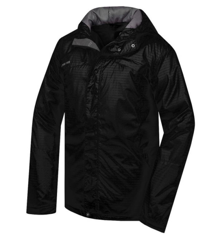 ALPINE PRO Quidel Pánská zimní bunda 20041990 černá L