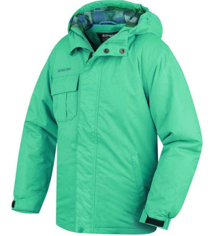 ALPINE PRO Susan Dětská zimní bunda 20061525 Blarney 140-146