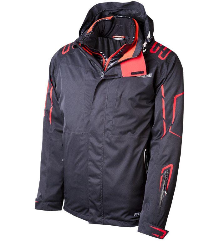 ALPINE PRO GUNA Pánská bunda 20227990 černá XL