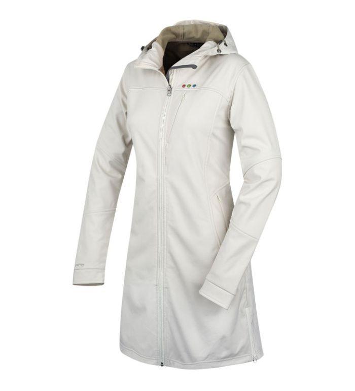 ALPINE PRO ASHERAH Dámský softshell kabát 25012002 krémová XL