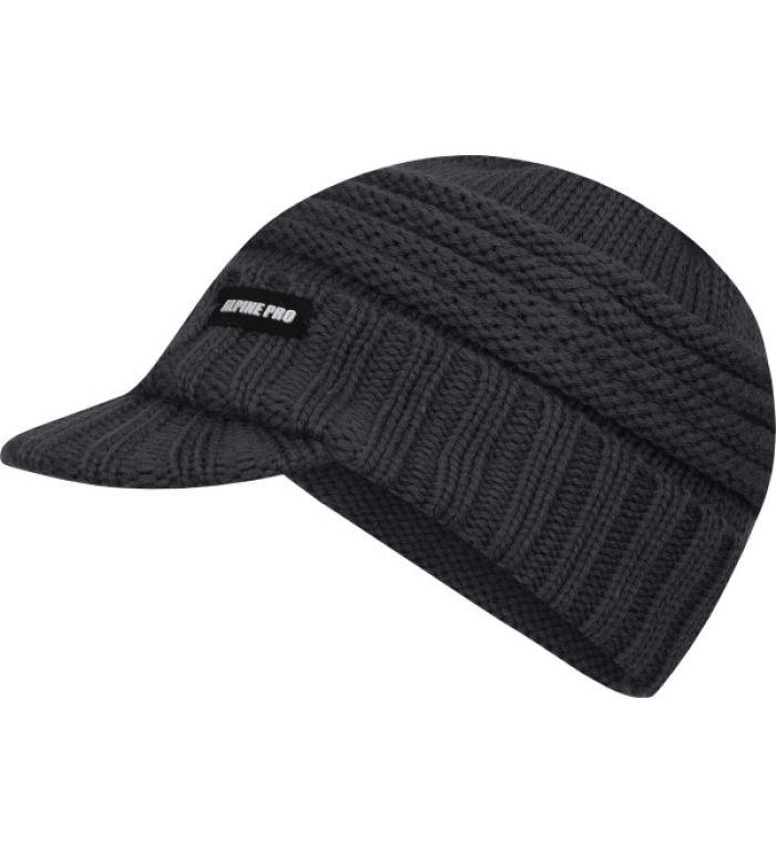 ALPINE PRO Shimi Y Dětská pletená čepice 43019990 černá M eb341bcd0e