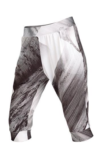 LITEX Kalhoty dámské 3/4 s nízkým sedem. 50086999 tisk S