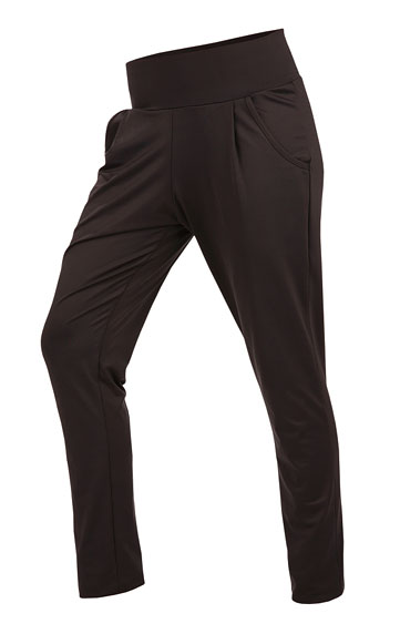 LITEX Kalhoty dámské dlouhé s nízkým sedem. 50107901 černá S