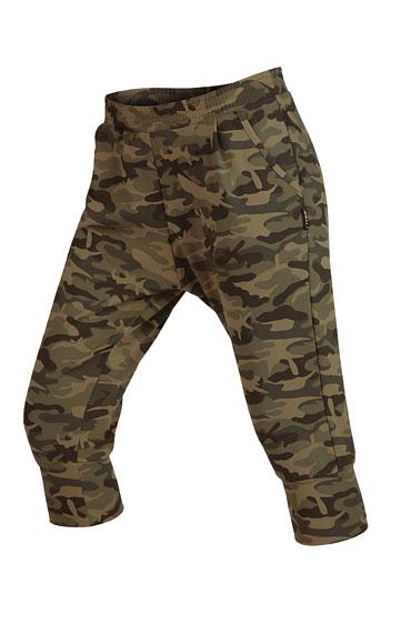 LITEX Kalhoty dámské 3/4 s nízkým sedem. 50216999 tisk S