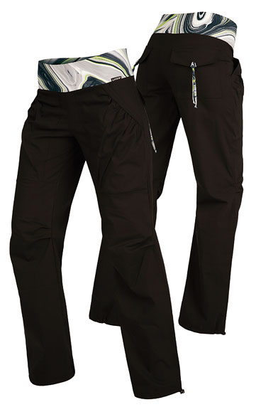 LITEX Kalhoty dámské dlouhé bokové. 50285901 černá XL