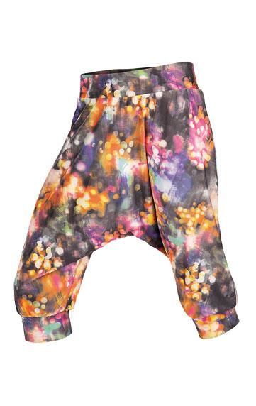 LITEX Kalhoty dětské 3/4 s nízkým sedem. 50460999 tisk 134