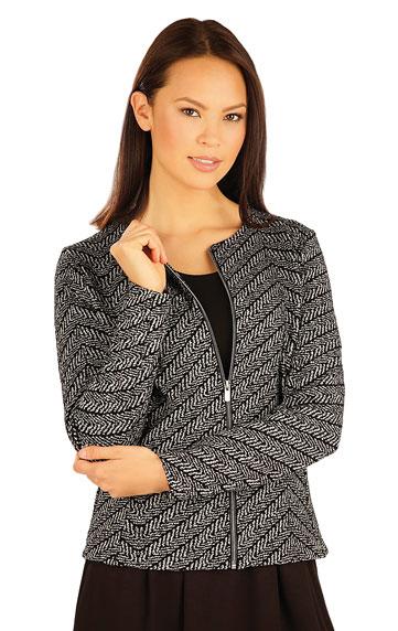 LITEX Kabátek dámský s dlouhým rukávem. 51029999 tisk M