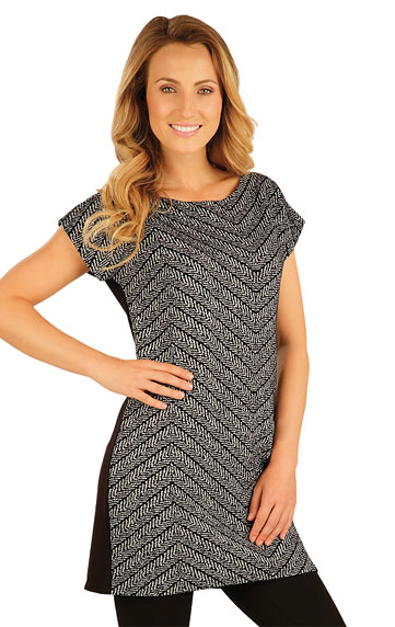 LITEX Tunika dámská s krátkým rukávem. 51030999 tisk XL