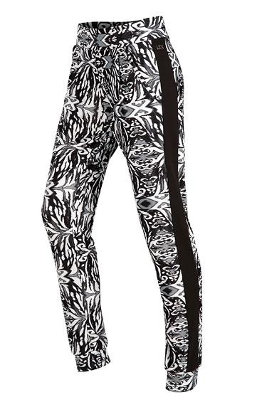 LITEX Kalhoty dámské dlouhé s nízkým sedem. 51135999 tisk S
