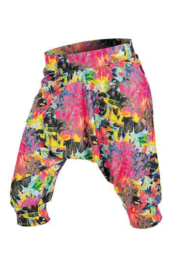 LITEX Kalhoty dámské 3/4 s nízkým sedem. 51175999 tisk S