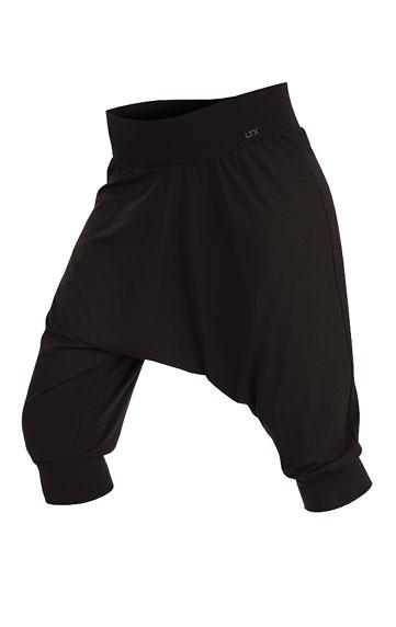 LITEX Kalhoty dámské 3/4 s nízkým sedem. 51198901 černá S