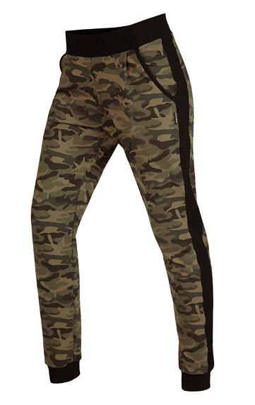 LITEX Kalhoty dámské dlouhé s nízkým sedem. 51279999 tisk S