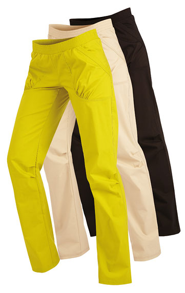 LITEX Kalhoty dámské dlouhé bokové. 51294104 žlutozelená S