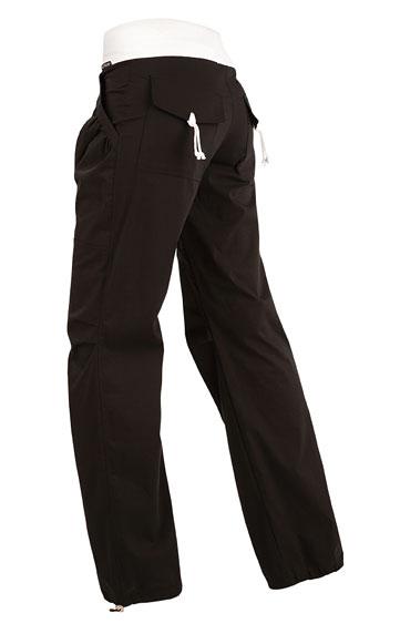 LITEX Kalhoty dámské dlouhé bokové. 51297901 černá S