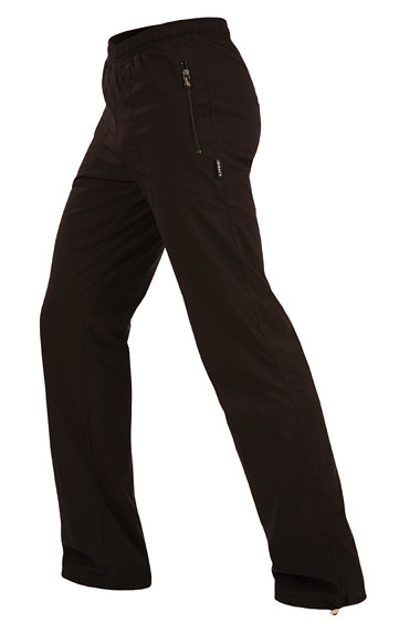 LITEX Kalhoty pánské zateplené - prodloužené. 51342901 černá MP