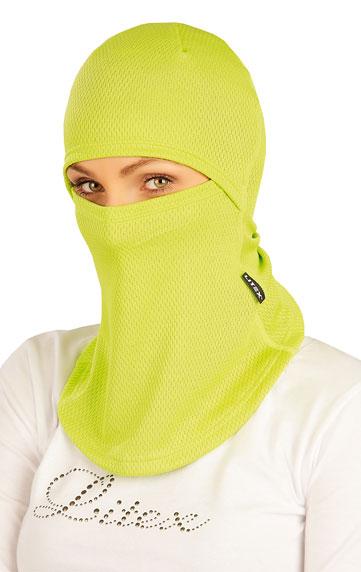 LITEX Kukla lyžařská. 51394104 žlutozelená UNI