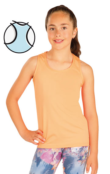 LITEX Tílko dětské. 51452201 oranžová