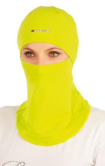 LITEX Kukla lyžařská. 51467104 žlutozelená UNI