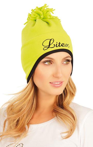 LITEX Čepice. 51481104 žlutozelená UNI