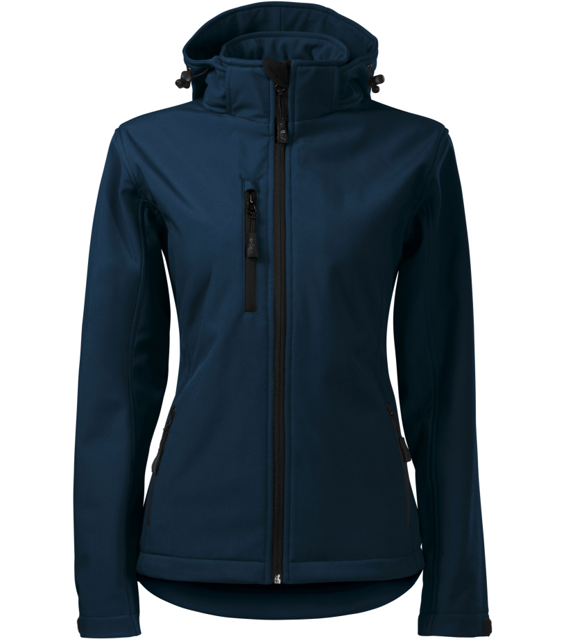 ADLER Performance Dámská softshell bunda 52102 námořní modrá