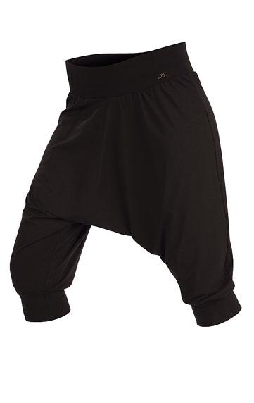 LITEX Kalhoty dámské 3/4 s nízkým sedem. 54211901 černá S
