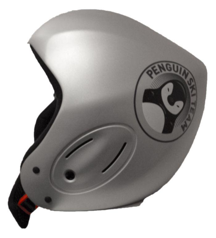 ALPINE PRO Dětská Lyžařská Helma 5933066 stříbrná S