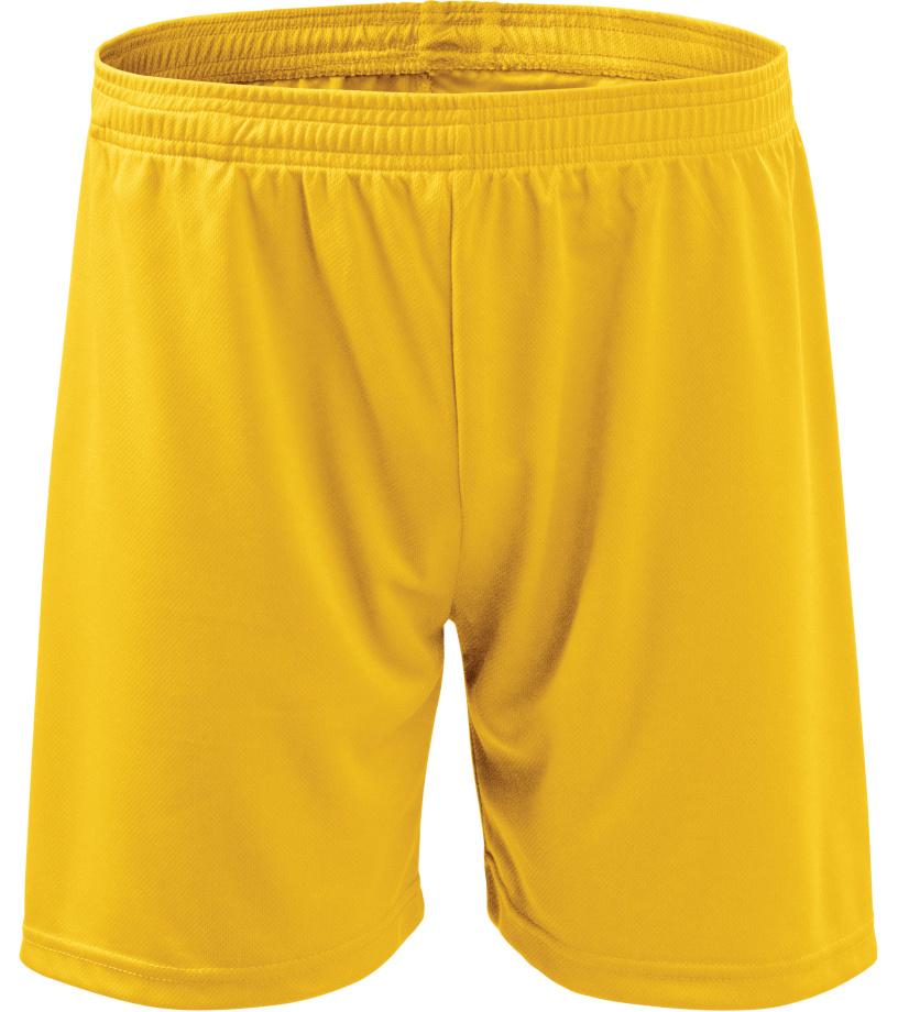 ADLER Playtime Dětské šortky 60504 žlutá 134