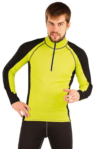 LITEX Termo triko pánské s dlouhým rukávem. 87025103 citrónová M
