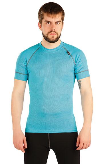 LITEX Termo triko pánské s krátkým rukávem. 87038503 tyrkysová L