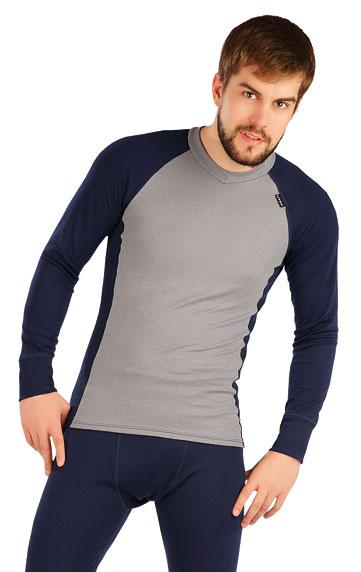LITEX Termo triko pánské s dlouhým rukávem. 87061111 světle šedá XXL
