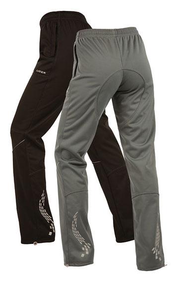 LITEX Kalhoty softshellové. 87106901 černá XL