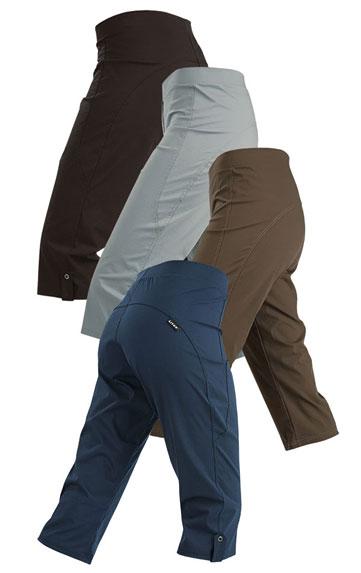 LITEX Kalhoty dámské bokové v 3/4 délce. 87155116 šedá M