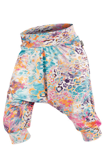LITEX Kalhoty dámské 3/4 s nízkým sedem. 87245999 tisk S
