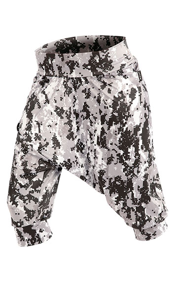 LITEX Kalhoty dámské 3/4 s nízkým sedem. 87251999 tisk S