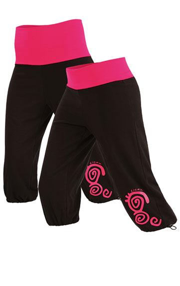 LITEX Kalhoty dámské v 3/4 délce. 87290901 černá L