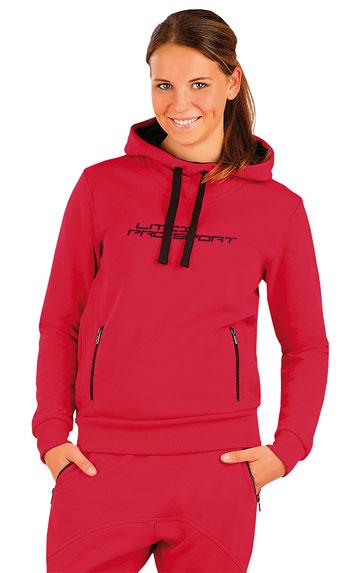 LITEX Mikina dámská s kapucí. 87318306 červená S