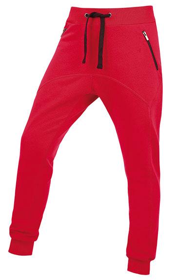 LITEX Tepláky dámské dlouhé s nízkým sedem. 87319306 červená M