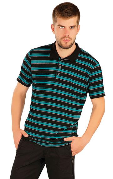 LITEX Polo triko pánské s krátkým rukávem. 87360666 pruhy M