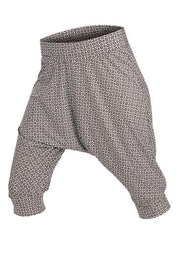 LITEX Kalhoty dámské 3/4 s nízkým sedem. 89015999 tisk S