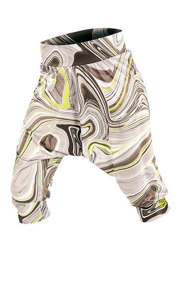LITEX Kalhoty dámské 3/4 s nízkým sedem. 89028999 tisk S