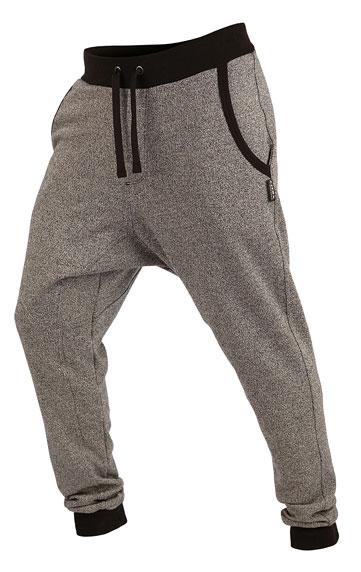 LITEX Kalhoty pánské dlouhé s nízkým sedem. 89195110 světle šedé melé L