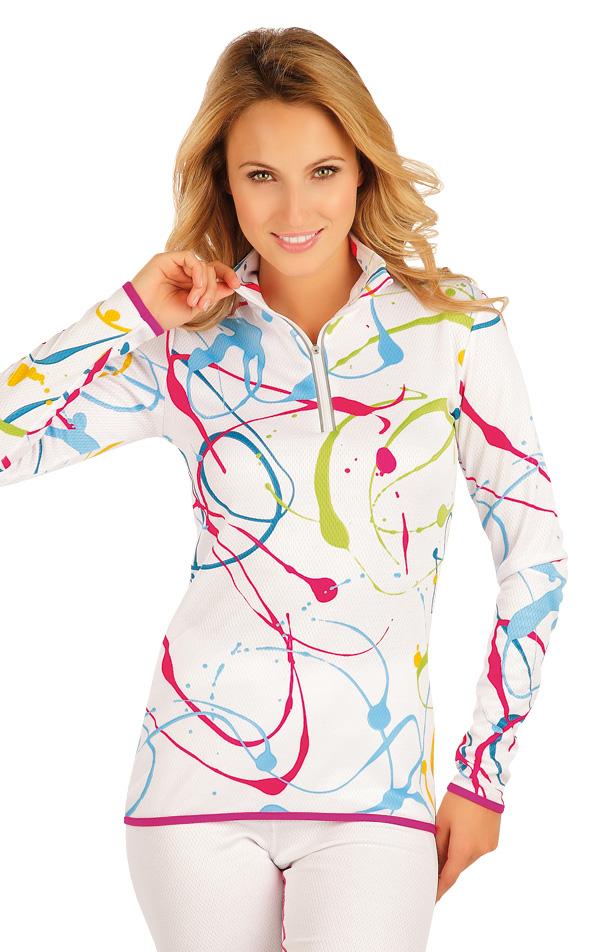 LITEX Termo triko dámské s dlouhým rukávem. 90016999 tisk L