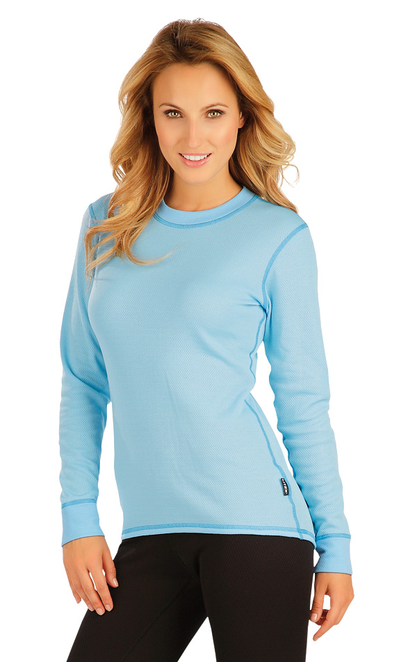 LITEX Termo triko dámské s dlouhým rukávem. 90018503 tyrkysová S