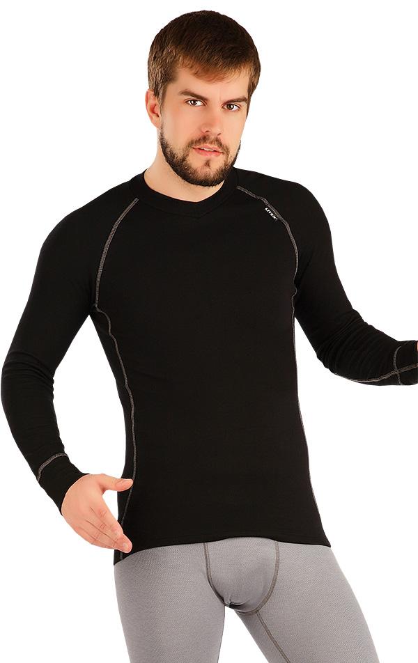 LITEX Termo triko pánské s dlouhým rukávem. 90041901 černá M